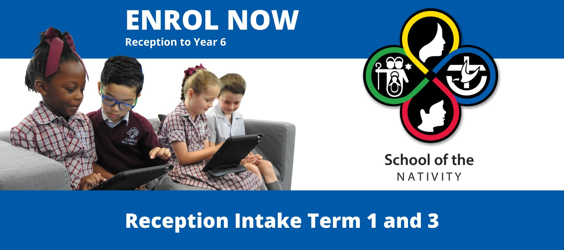 Reception intake Term 1 and 3